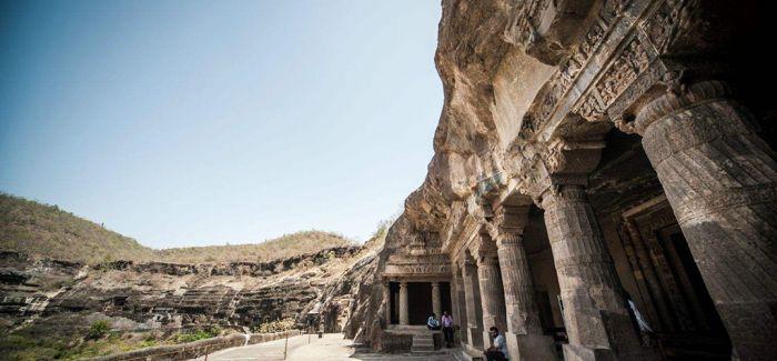 印度古代佛教文化遗址:阿旃陀石窟