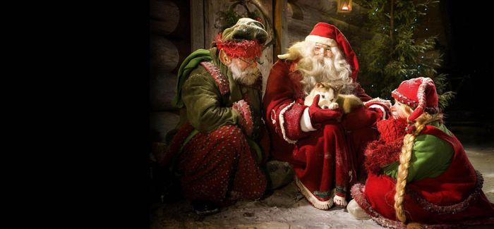 """""""拜访""""圣诞老人"""