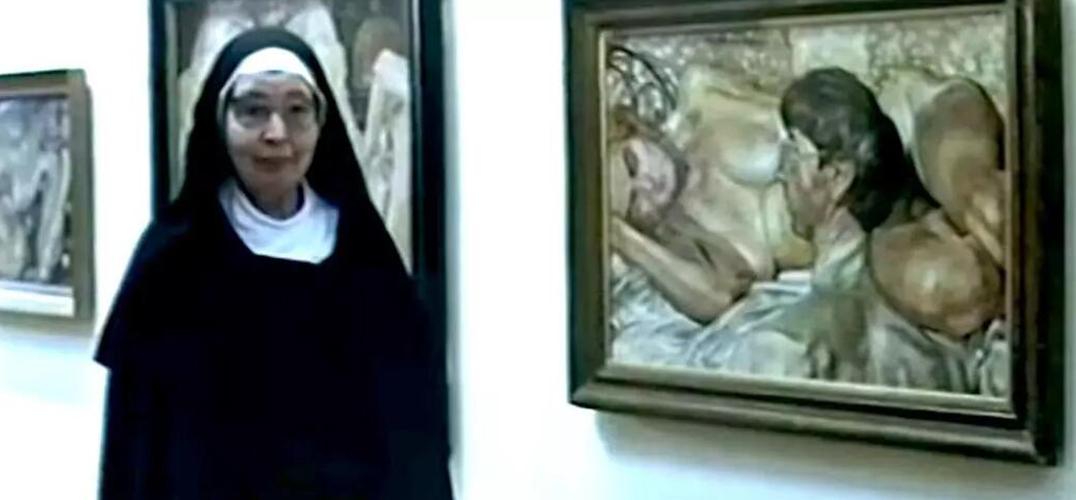 修女艺评家贝克特:写艺术批评就像是爱我们的邻居