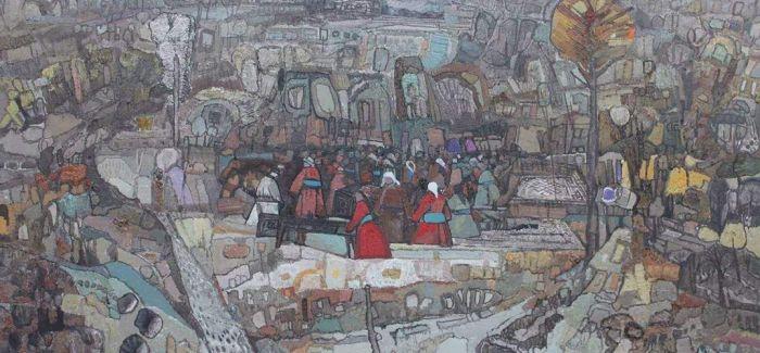 中国美术馆举行西多罗夫与妥木斯油画展