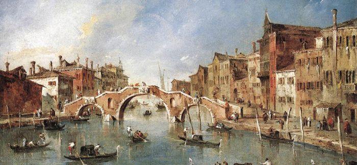 热衷于威尼斯风景画的弗朗切斯科·瓜尔迪