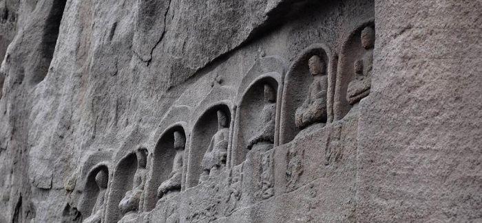 天龙山石窟数字复原部分造像