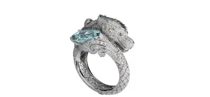 寓意美好的龙形珠宝