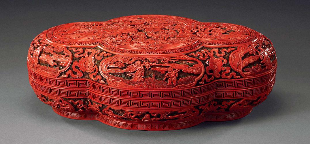 中国漆器工艺之剔红