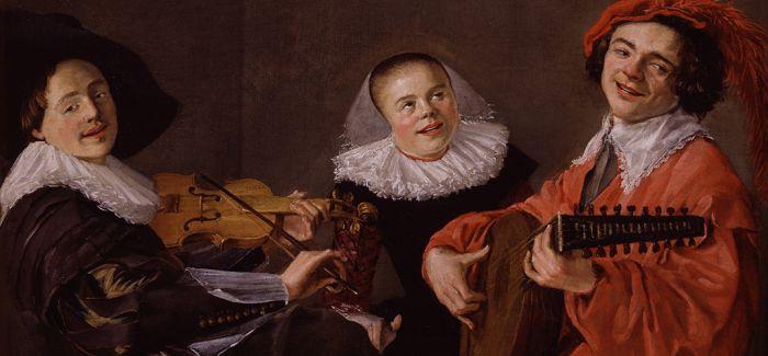 快乐的巴洛克女画家朱迪思·莱斯特