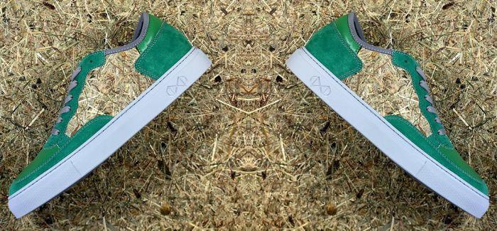 """环保""""草""""鞋"""
