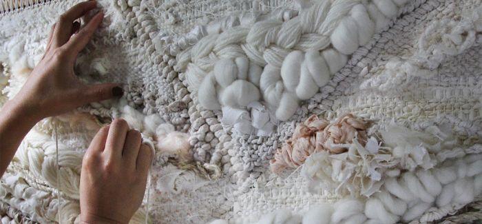 变废为宝的编织艺术家