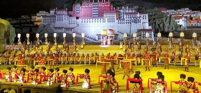 西藏大型实景剧《文成公主》实现经济和社会双效益