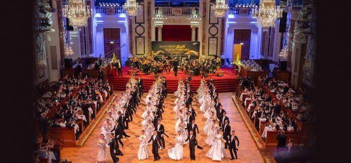 维也纳中国新年舞会 舞动中奥友谊