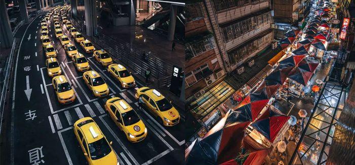 密集流和未来派摄影 让城市魔幻起来