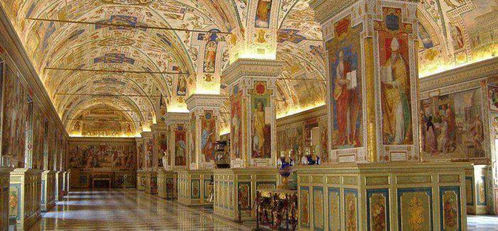 """游走于梵蒂冈博物馆 我不仅仅是一名""""游客"""""""