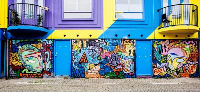 街头涂鸦 让阿姆斯特丹成为露天博物馆