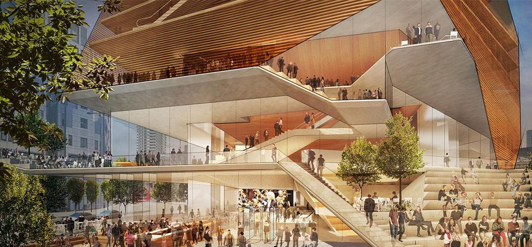 伦敦音乐中心初稿公布 将耗资2.88亿英镑