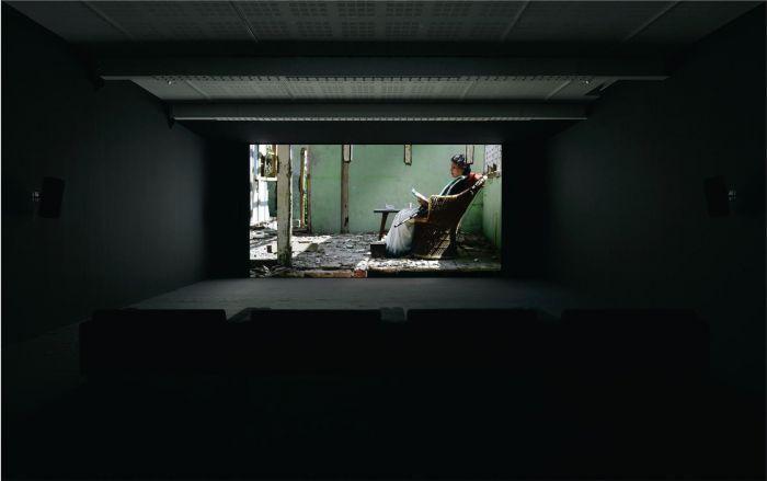 """阿马尔 · 康瓦/ """"好一个早晨""""现场 /玛丽安 · 古德曼巴黎画廊,201"""
