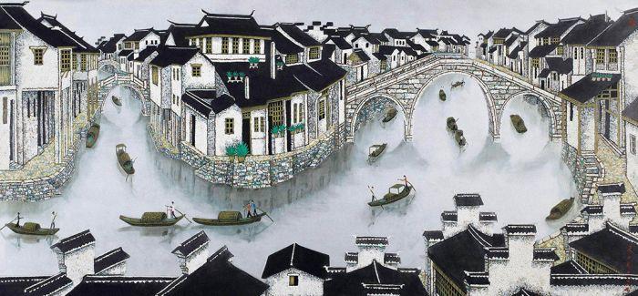 中国漆画东京展出 以漆画为媒促中日文化交流