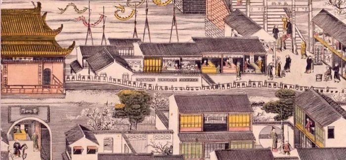 """在上海窥探""""姑苏版""""年画对浮世绘的影响"""