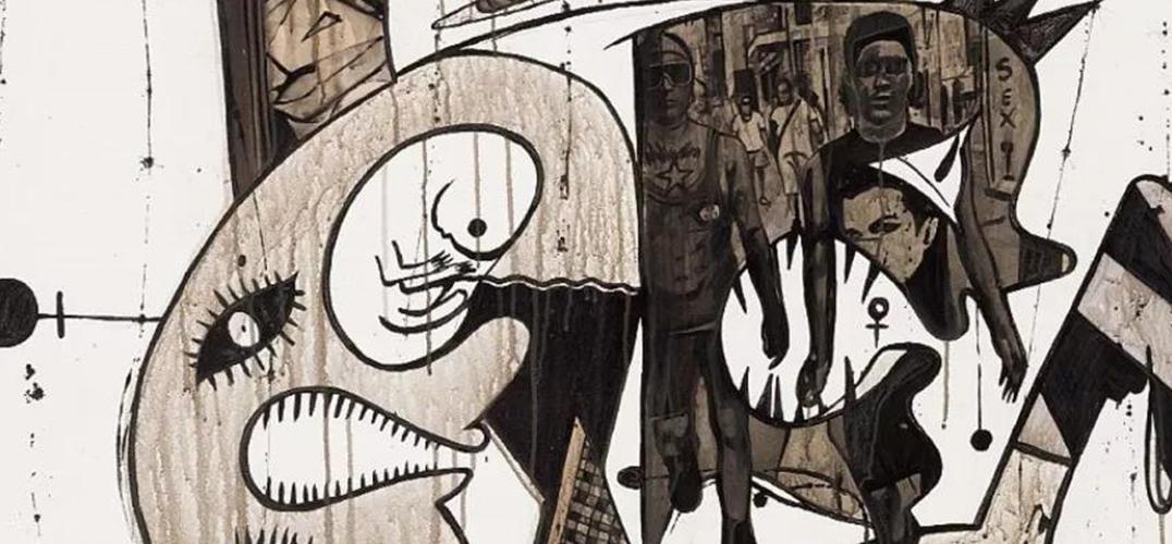 """""""污点""""下崛起的南非艺术之城"""