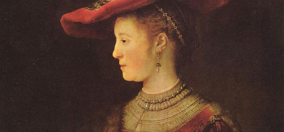 为妻子画像的伦勃朗 致短暂而惋惜的婚姻