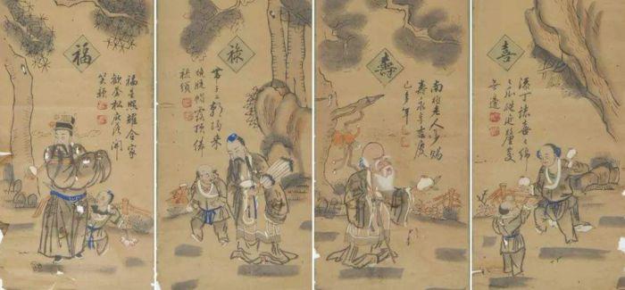 当桃花坞木版年画遇见日本浮世绘版画