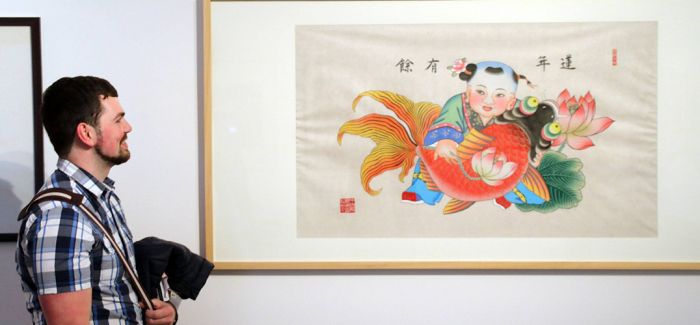 苏州美术馆举行古版年画展