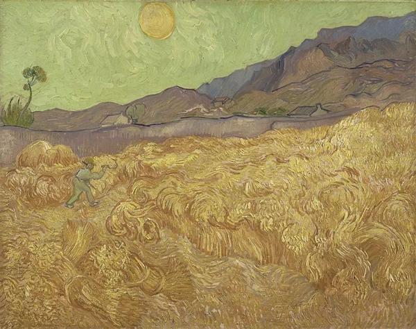《割麦者》1889