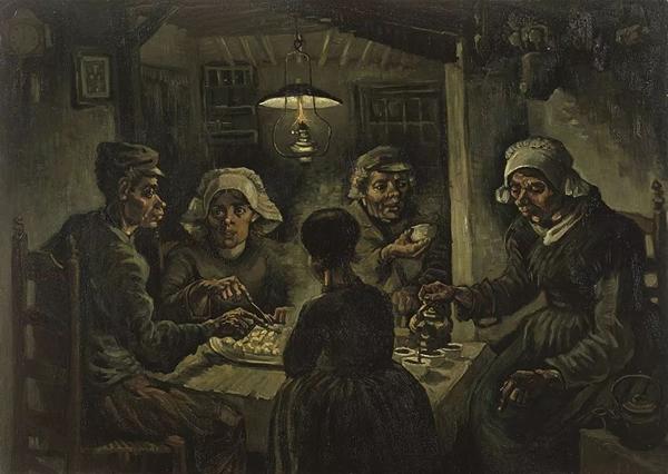 《吃土豆的人》1884—1885
