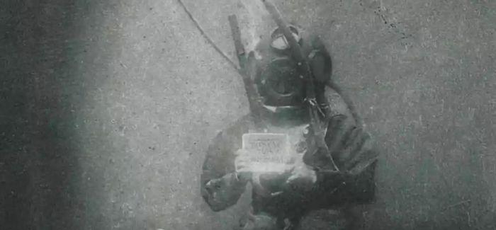 朦胧美学:百年前的水下摄影