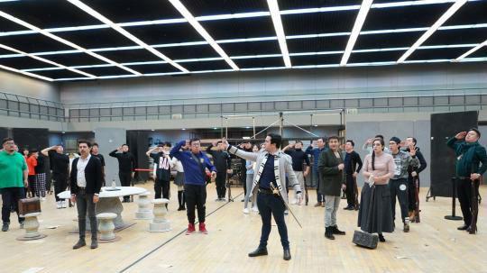 国家大剧院新春大戏《塞维利亚理发师》开启紧张排练