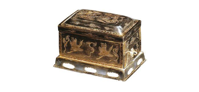 保存完整的唐鎏金茶罗子 品味悠久茶文化
