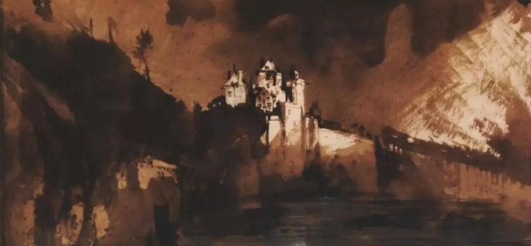 维克多·雨果 除了文学上的成就 他还是一位画家