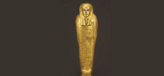 纽约大都会归还350万欧元收购的古埃及镀金棺椁