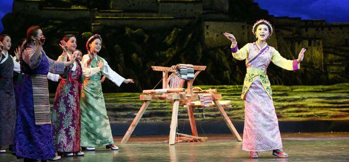 舞台剧《高原春雷》 献礼西藏民主改革60周年