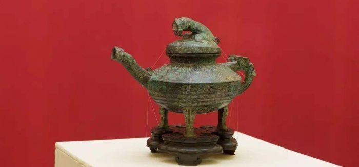 西周青铜器虎鎣 原来是用来装郁金汁的