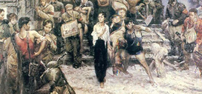 """""""与时代同行-四川油画邀请展""""在成都博物馆举办"""