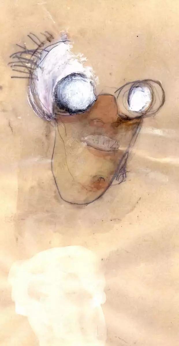 ▲罗伯特·库奇,《Il Coccodeista》(自画像与佩肯棱镜),1997,©️罗伯