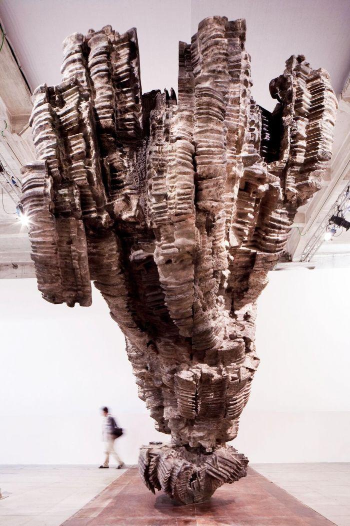 ▲罗伯特·库奇作品于2017年威尼斯双年展意大利国家馆展出现场图片,©️罗伯特·库奇,摄