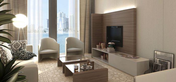 公寓的奢华设计 营造十足现代感