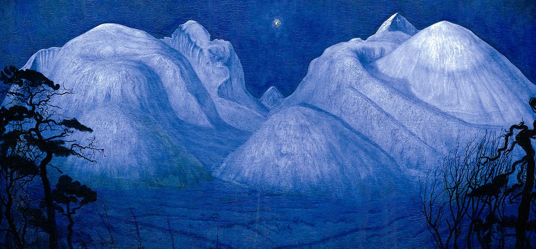 哈拉尔德·索尔伯格笔下的挪威美景