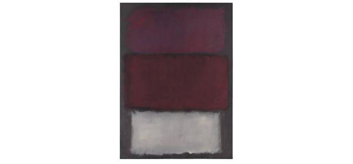 纽约苏富比将呈献马克·罗斯科1960年作品《无题》