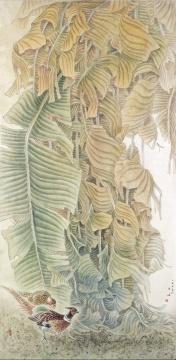 《暮》 176cm×83cm 2005年 绢本设色