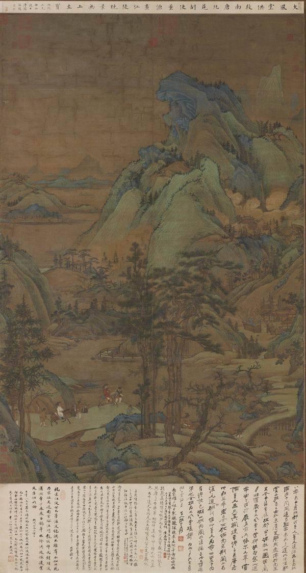 看张大千捐出了哪些书画与自用印,台北故宫将推张大千大展