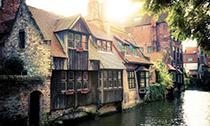 古城布鲁日 仿佛生活在16世纪的童话中