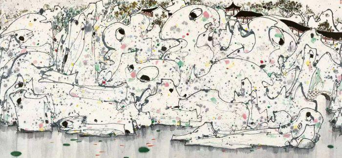 吴冠中百年诞辰收藏大展在北京保利艺术博物馆举行