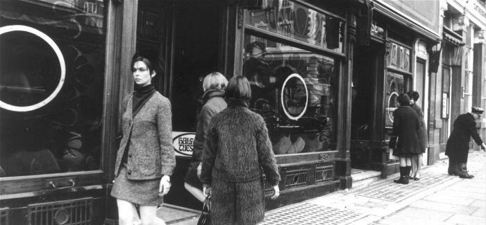 60年代伦敦潮流指标店铺