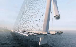 新淡江大桥预计2024年落成