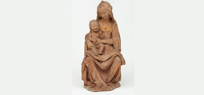 """达芬奇""""唯一幸存""""的雕塑作品重新揭幕"""