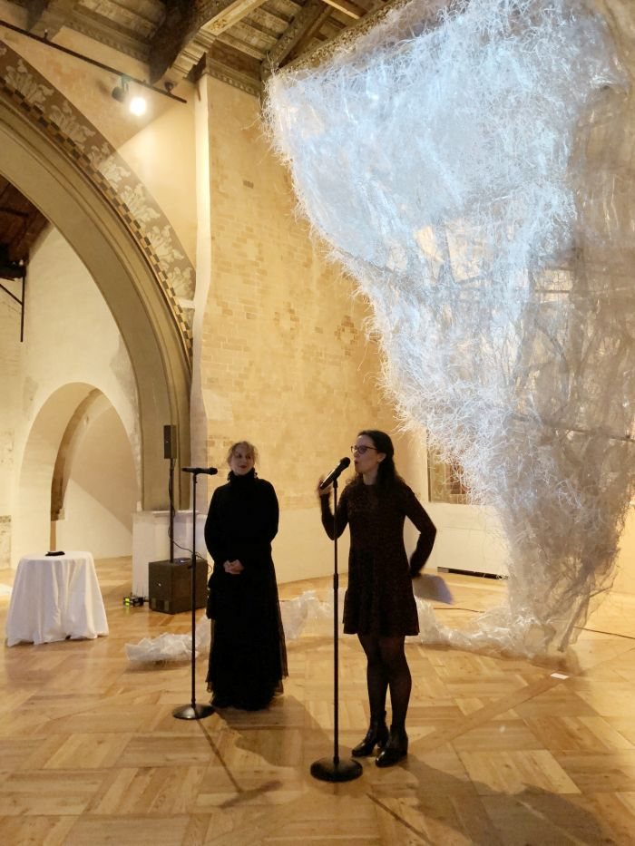 主办方ICAA国际艺术创意联盟国际理事会成员代表、米兰Palazzo Reale艺术总监Dalia Gallico