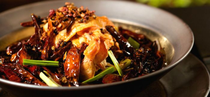 川菜的辣 韵味无穷