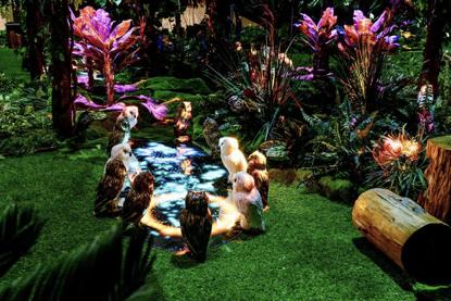 爱中爱 光影魔幻森林花园