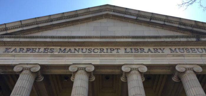 美国卡佩尔斯手稿图书馆起火 珍贵藏品所幸无损